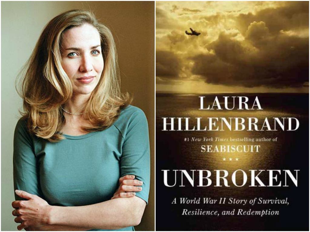 unbroken laura hillenbrand The author of seabiscuit (2001) returns with another dynamic, well-researched story of guts overcoming odds.